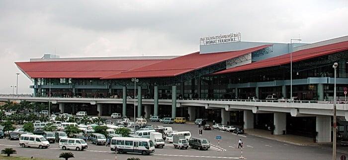 Bãi đỗ xe ô tô sân bay Nội Bài