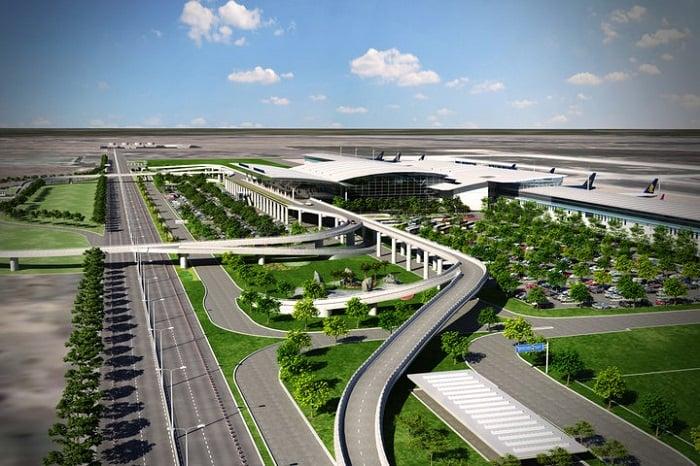 Sơ đồ nhà ga hành khách quốc tế T2 - Sân bay quốc tế Nội Bài