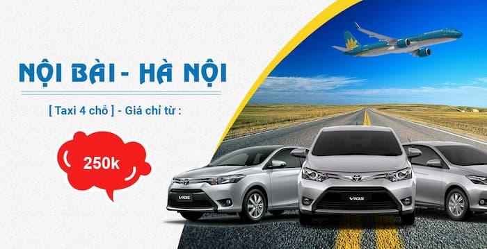 Dịch vụ taxi VIP sân bay Nội Bài