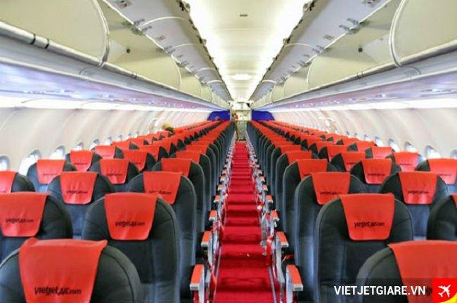 Các hàng ghế máy bay