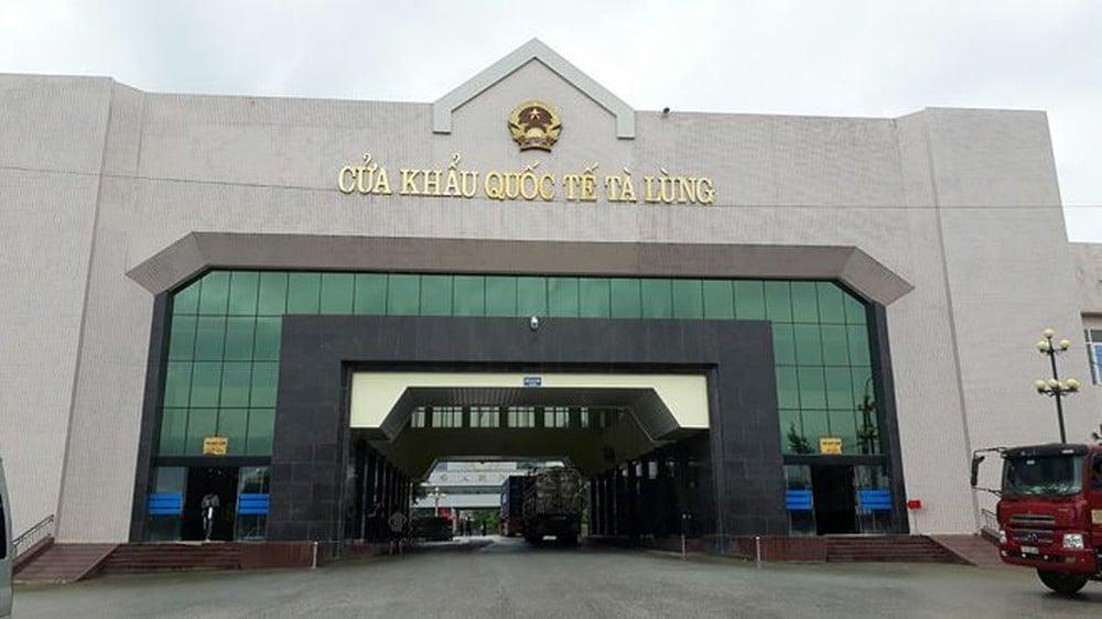 Cửa khẩu quốc tế Tà Lùng Cao Bằng