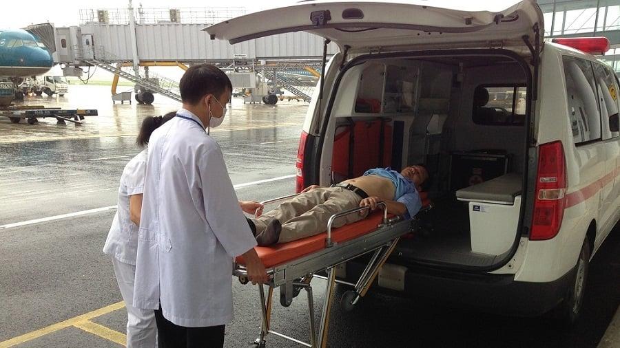 Dịch vụ y tế sân bay - Cấp cứu hành khách