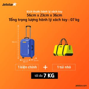 Quy định hành lý Jetstar Pacific