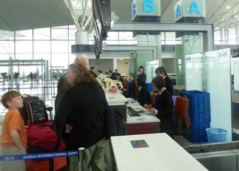 Thủ tục hải quan sân bay
