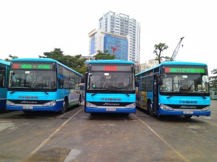 Xe bus 109 Mỹ Đình - sân bay Nội Bài