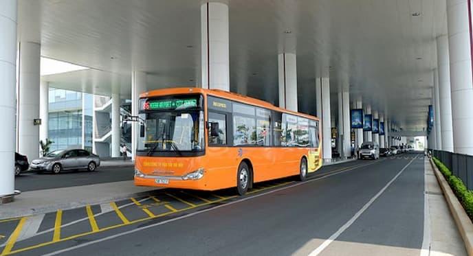Xe bus chất lượng cao 86 đi trung tâm Hà Nội đến sân bay Nội Bài