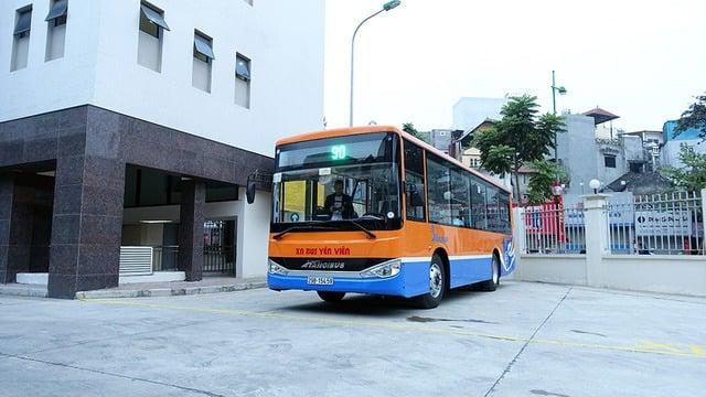Xe buýt số 90: Kim Mã - sân bay Nội Bài