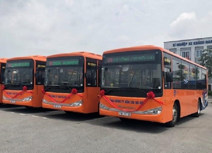 Xe buýt chất lượng cao số 68: Hà Đông - sân bay Nội Bài
