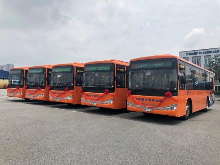 Tuyến buýt chất lượng cao số 68:Trung tâm thương mại Mê Linh Plaza Hà Đông – Sân bay Nội Bài.