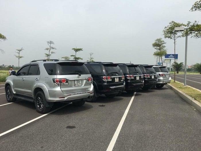 Bãi xe của Xe VIP Nội Bài