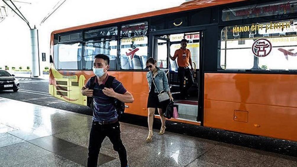 Sắp khai trương tuyến xe buýt chất lượng cao Hà Đông - sân bay Nội Bài