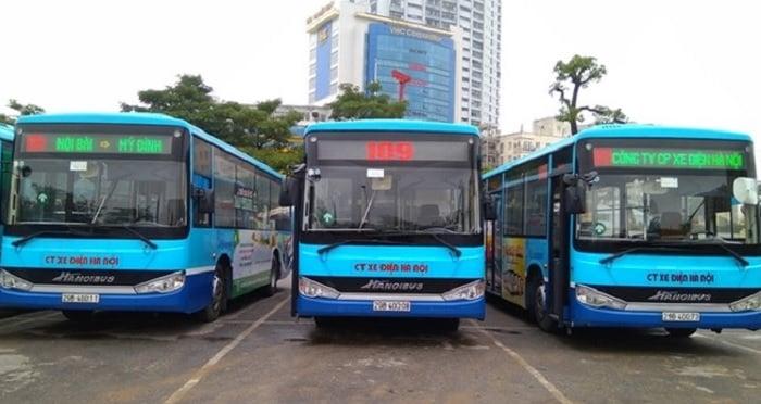 Xe buýt số 109: Mỹ Đình - Nội Bài