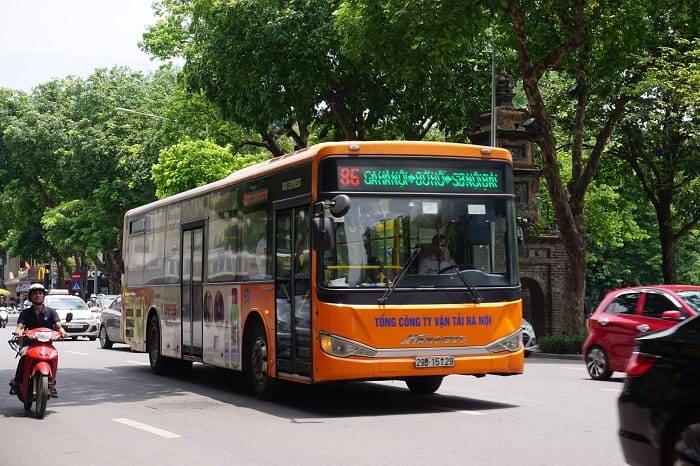 Xe buýt chất lượng cao số 86: Ga Hà Nội - SB Nội Bài