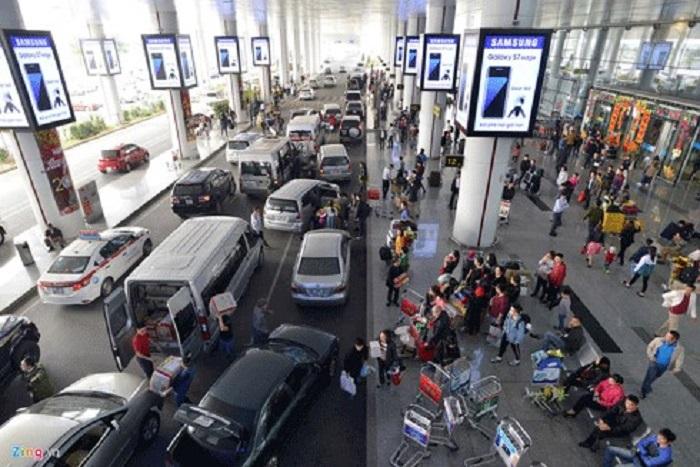 Điểm đón taxi sân bay Nội bài khứ hồi