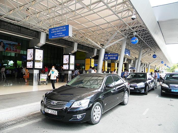 Dịch vụ đưa đón taxi ở sân bay