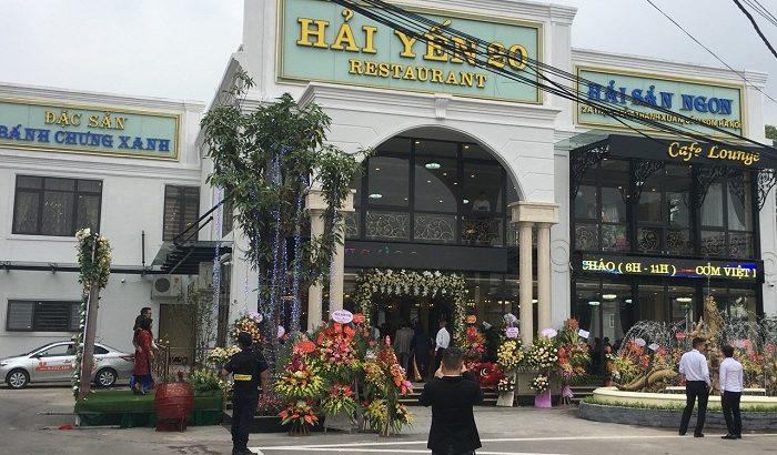Nhà hàng Hải Yến gần sân bay Nội Bài đây mọi người nhé!