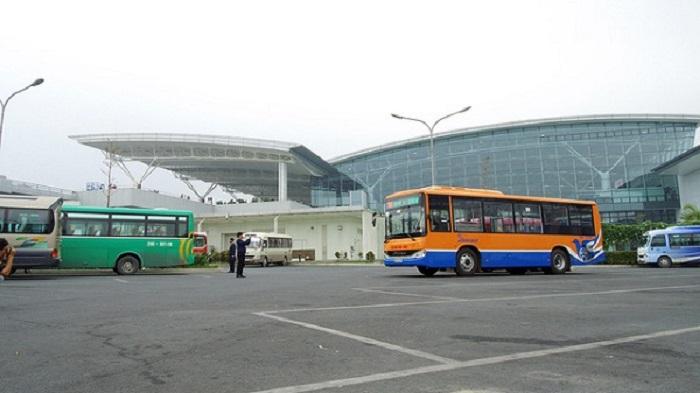 Xe buýt chất lượng cao sân bay Nội Bài