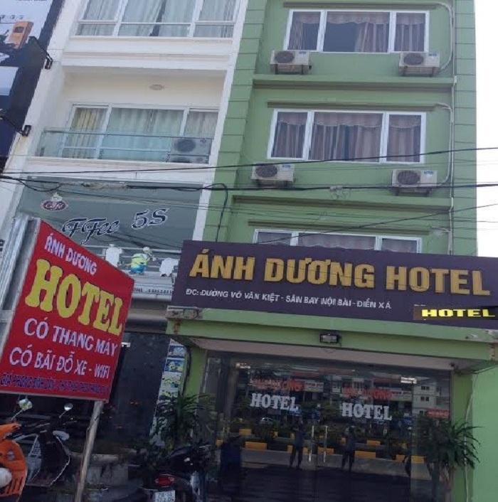 Khách sạn Ánh Dương gần sân bay Nội Bài