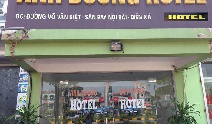 Khách sạn Ánh Dương ở gần sân bay Nội Bài