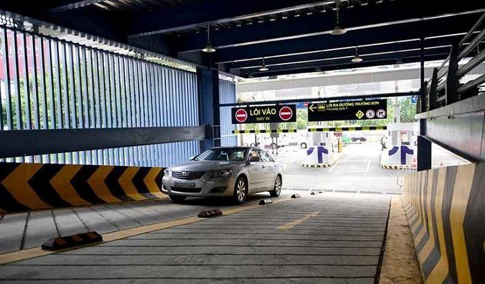 Những bãi gửi xe gần sân bay Nội Bài