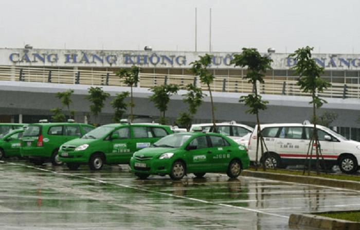 Bãi đỗ taxi tại sân bay quốc tế Đà Nẵng