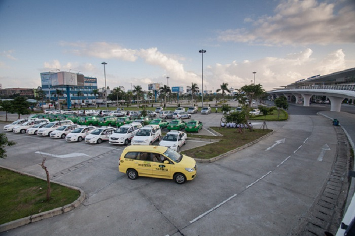 Taxi ở sân bay Đà Nẵng