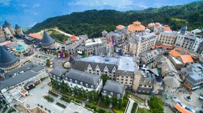 Điểm du lịch Bà Nà Hills tại Đà Nẵng