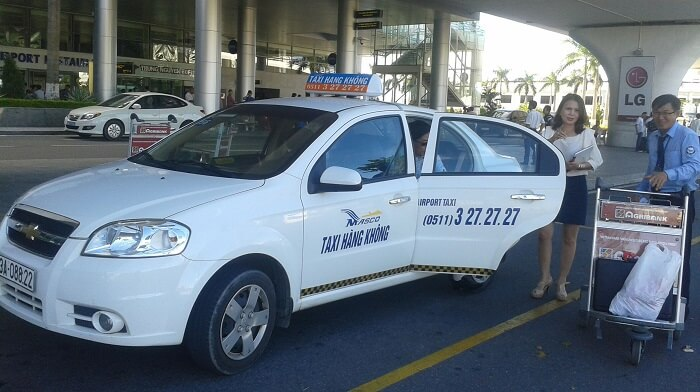 Taxi từ sân bay Đà Nẵng đi Hội An