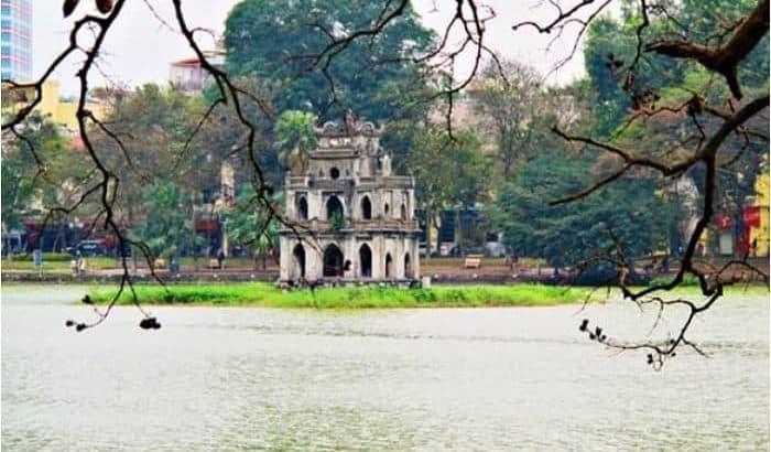 Tháp Rùa Hồ Gươm, Hà Nội